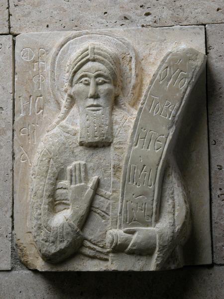 Моисей \ каменная резьба