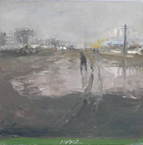 Лужа.    2004