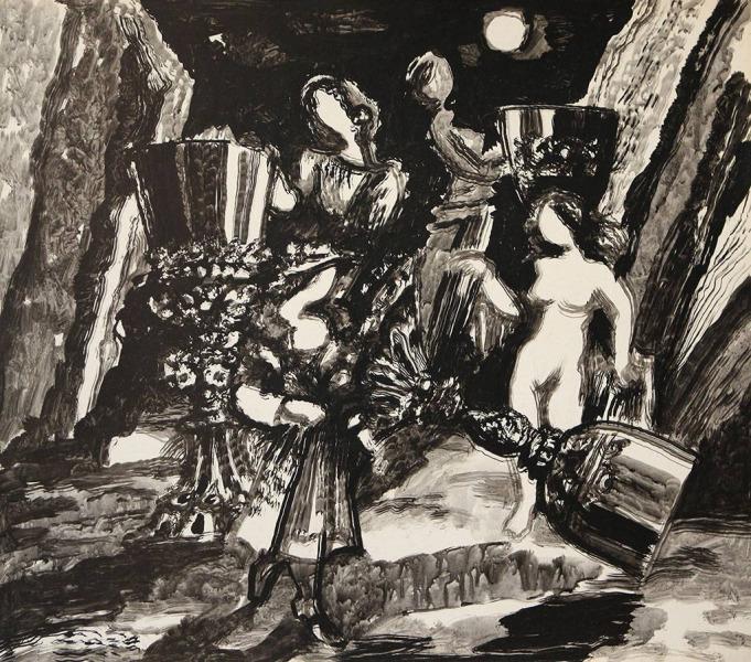 Вино и женщины. 1960-е