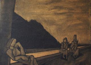 На берегу Дугны. 2006