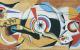 Вариант эскиза к мозаике на Доме Оптике в Москве